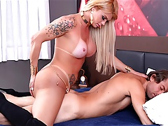 Tgirl Bangs a Dudes Arse After He Bangs Hers