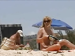 T-girl Naked by the Beach