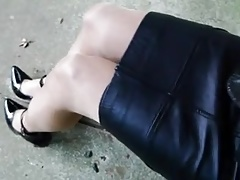 crossdresser leather  2