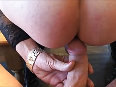 German Transsexual Mareike - Assfuckteasing