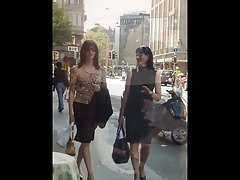 Jaw-dropping Crossdressers In Public