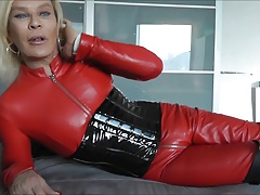 whore leather transgender princess  leather guy