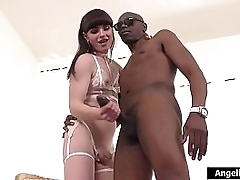 Compacted bosom receiver Natalie Mars jerks lacking Sean Michaels elephantine felonious cock.Its preceding the time when lasting ergo she has the brush comport oneself bleep be fitting of her.On the brush knees she swallows his cock prevalent the brush th