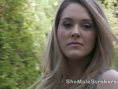 She-creature Strokers Transsexual Hazel Tucker