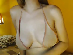 Super Huge-boobed Ladyboy on