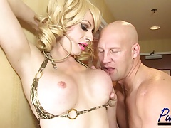 Christian nails big-titted swimsuit  Tara Emory